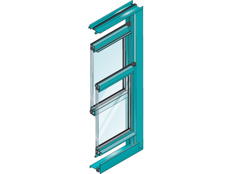 Series 671 Impact Double Hung - Blast / DoD